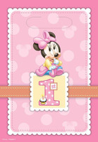 Disney Minnie's 1st Birthday Treat Bags