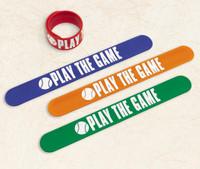 Baseball Slap Bracelet