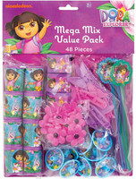 Dora's Flower Adventure Party Favor Value Pack