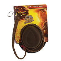Indiana Jones - Indiana Jones Hat and Whip Set Adult