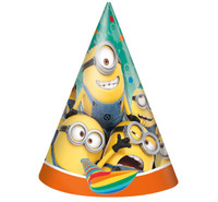 Minions Despicable Me - Cone Hats (8)