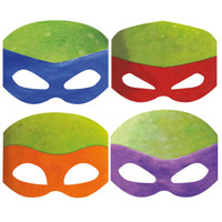 Nickelodeon Teenage Mutant Ninja Turtles Paper Masks
