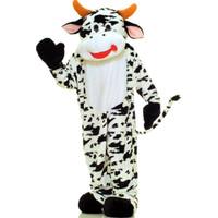 Cow Plush Economy Mascot Adult Costume