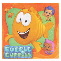 Bubble Guppies Lunch Napkins