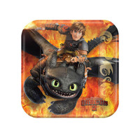 How to Train Your Dragon 2-  Dessert Plates Assorted