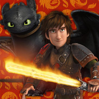 How to Train Your Dragon 2 - Lunch Napkins