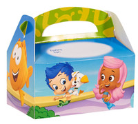 Bubble Guppies Personalized Write-In Empty Favor Boxes