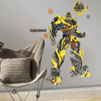 Transformers: Age of Extinction Bumblebee Giant Wall Decals