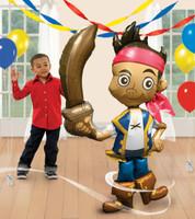 Disney Jake and the Neverland Pirates AirWalker Foil Balloon