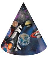 Space Blast Cone Hats (8)