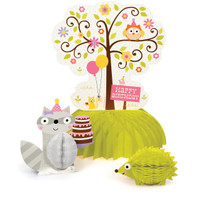 Happi Woodland Girl Centerpiece