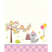 Happi Woodland Girl Printed Tablecover