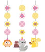 Happi Woodland Girl Hanging Cutouts