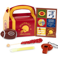 Football Game Time Filled Party Favor Box