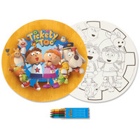 Tickety Toc Activity Placemat Kit for 4