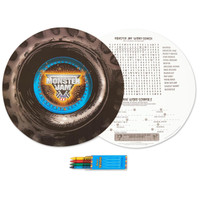 Monster Jam 3D Activity Placemat Kit for 4