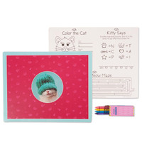 rachaelhale Glamour Cats Activity Placemat Kit for 4