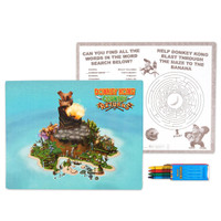 Donkey Kong Activity Placemat Kit for 4