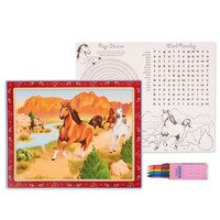 Horse Power Activity Placemat Kit for 4