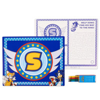Sonic the Hedgehog Activity Placemat Kit for 4
