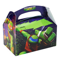 Teenage Mutant Ninja Turtles Personalized Write-In Empty Favor Boxes (4)