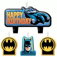 Batman Birthday Candle Set