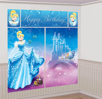 Disney Cinderella Scene Setter Decoration Set