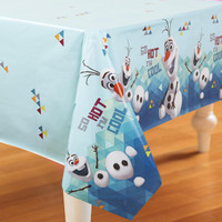 Disney Olaf Plastic Tablecover