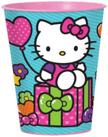 Hello Kitty Rainbow 16 oz. Plastic Cup
