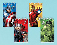 Avengers Assemble Notepads Assorted (12)