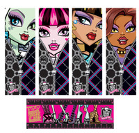 Monster High Bookmarks