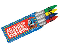 Thomas the Tank Mini Crayon Set