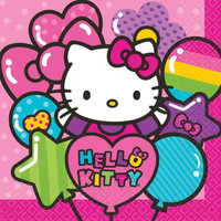 Hello Kitty Rainbow Lunch Napkins (16)