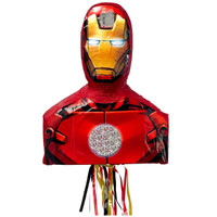 Iron Man 3D Pull-String Pinata