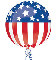 Patriotic Foil Balloon