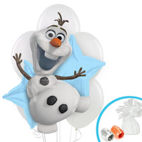 Disney Olaf  Balloon Bouquet