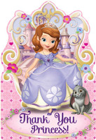 Disney Sofia the First Thank-You Notes (8)