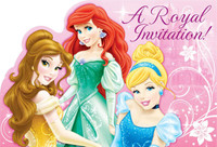 Disney Very Important Princess Dream Party Invitations (8)