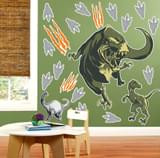 Dinosaurs Giant Wall Decals (2)