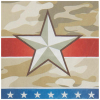 Camo Army Soldier Lunch Napkins