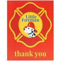 Little Fireman Thank-You Notes (8)