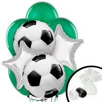 Soccer Balloon Bouquet
