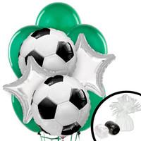 Soccer Balloon Bouquet