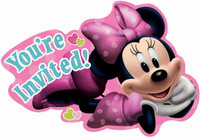 Disney Minnie Mouse Bowtique Invitations