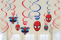 Spider-Man Swirls