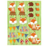 Forest Fox Sticker Sheets (4)