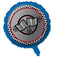 Racing Metallic Foil Balloon