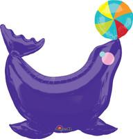 Circus Seal Jumbo Foil Balloon