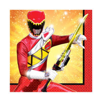 Power Rangers Dino Charge Beverage Napkins (16)