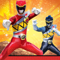 Power Rangers Dino Charge Lunch Napkins (16)